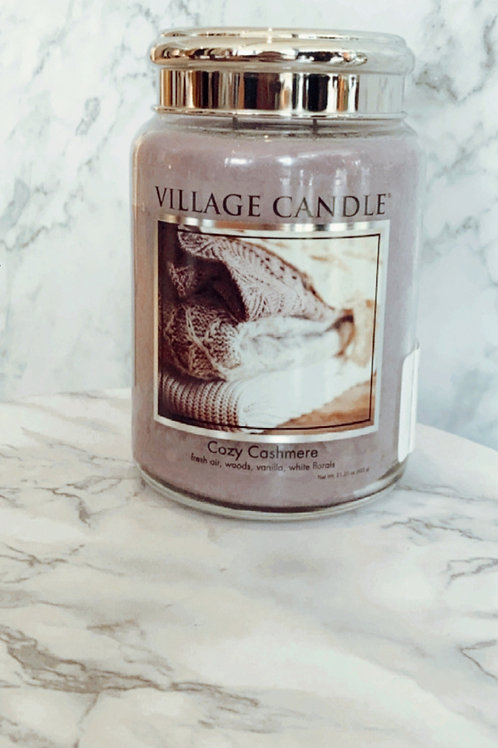 Village Candle - Cosy Cashmere ( Large)