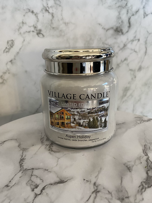 Village Candle-Aspen Holiday (Medium)