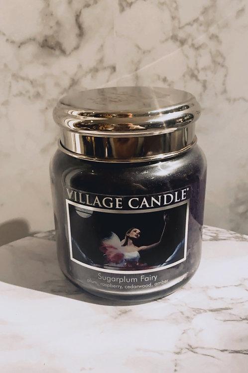 Village Candle-Sugarplum Fairy (Medium)