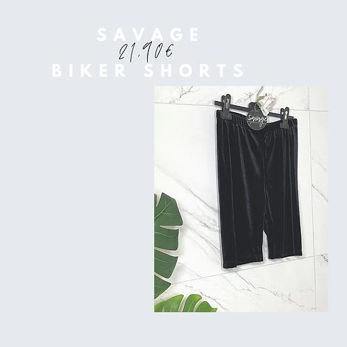 Savage biker shorts