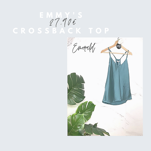 Emmy's crossback top