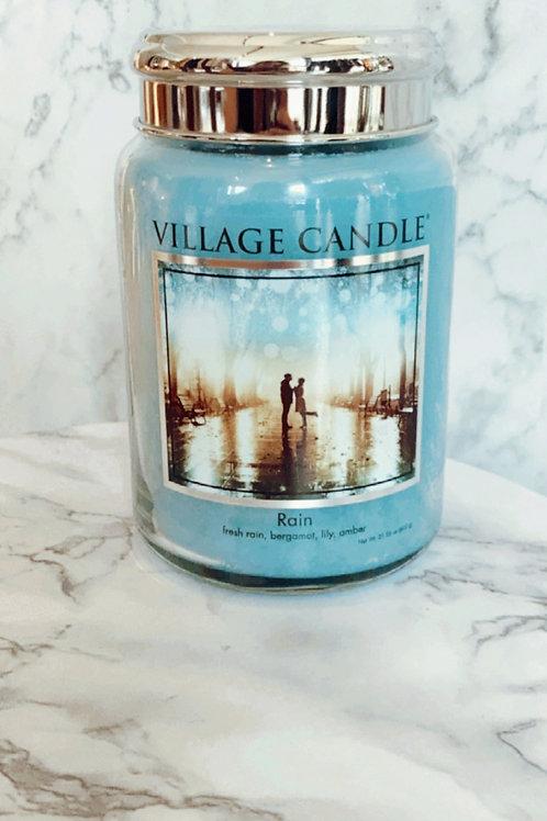 Village Candle - Rain ( Large )