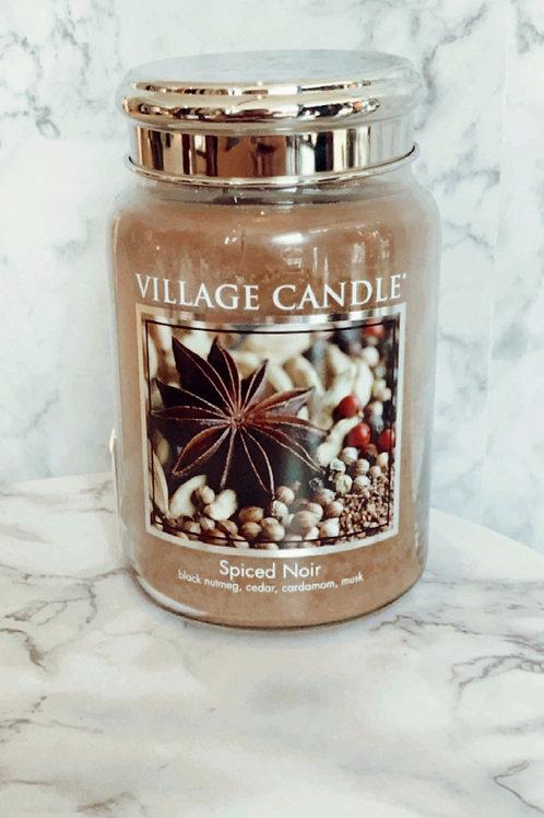 Village Candle - Spiced Noir ( Large)