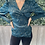 Thumbnail: Emerald blouse with gold details
