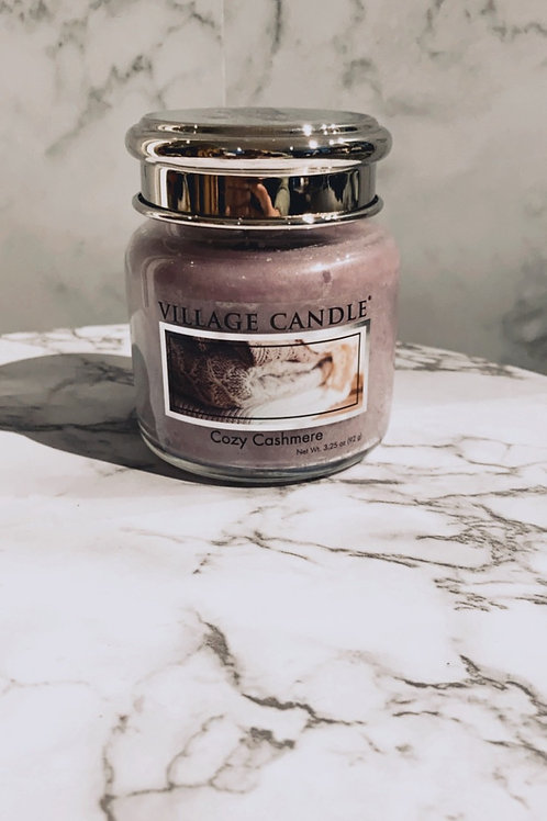 Village candle - cozy cashmere (mini)