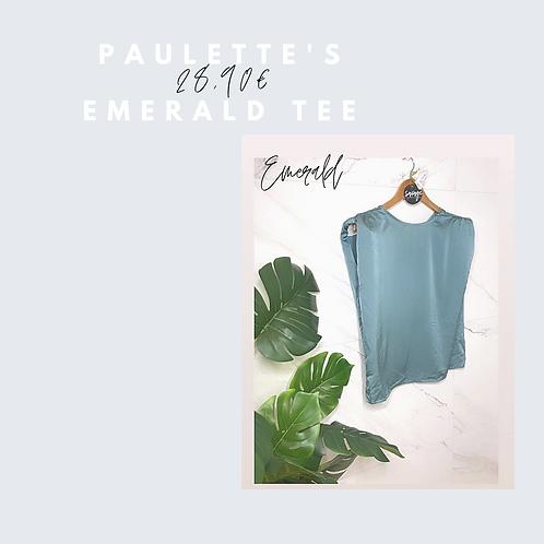 Paulett's emerald tee