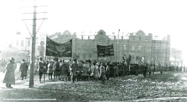 Митинг у Горсада за ликвидацию ДВР и при