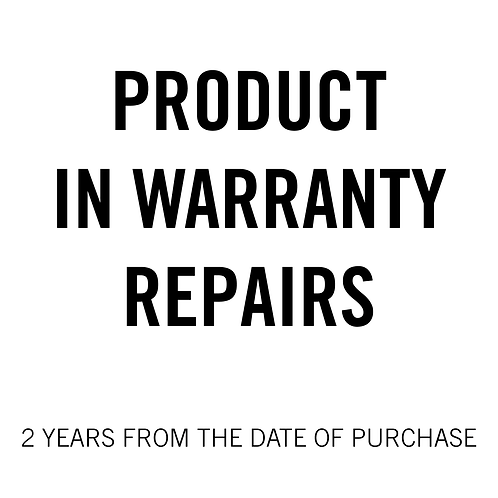 Product  in Warranty