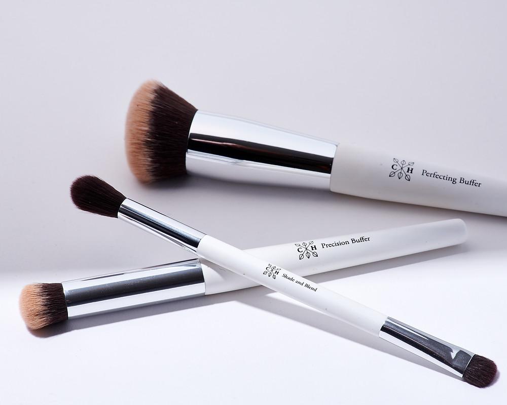 Clove and hallow makeup brush trio