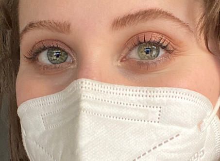 WEARING A FACE MASK? TRY THIS EYE MAKEUP