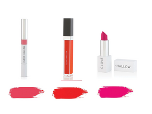 clove and hallow bestselling bolds lip set