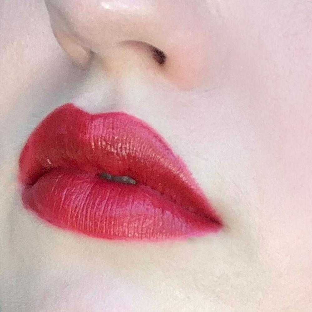 Blended lip colors
