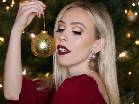 HOLIDAY GLAM MAKEUP LOOK