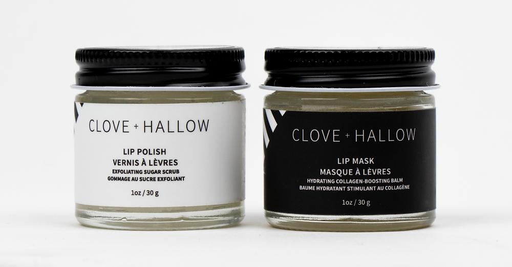 CLOVE AND HALLOW Lip Polish and Lip Mask