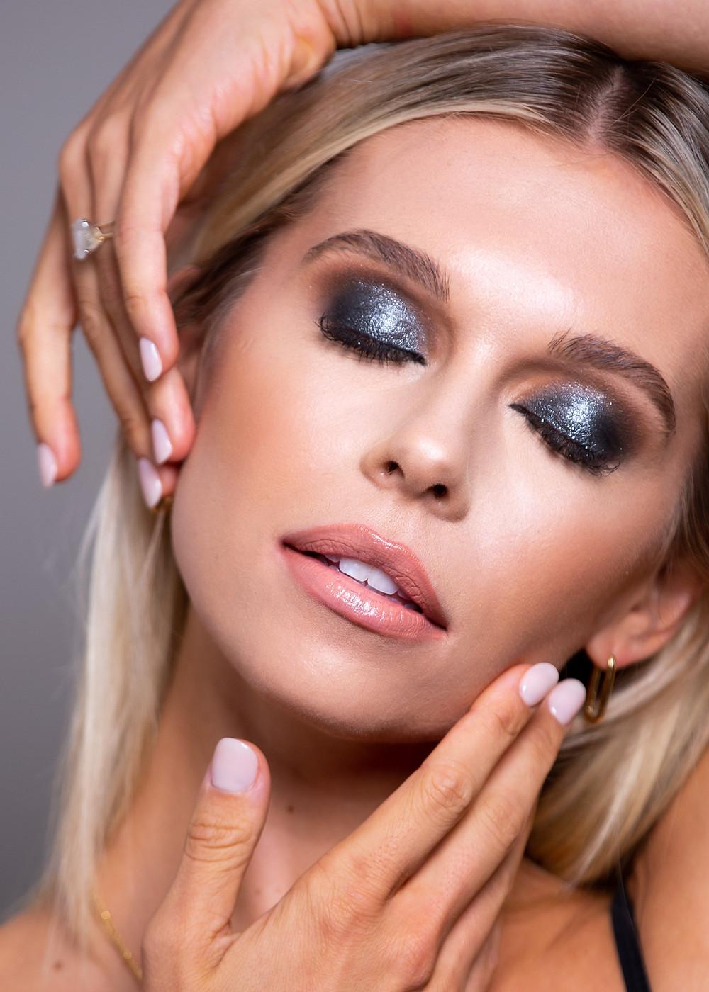 CLOVE AND HALLOW Smoke Show Makeup Look