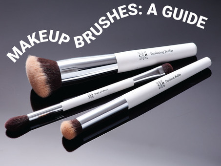 THE C+H MAKEUP BRUSH GUIDE