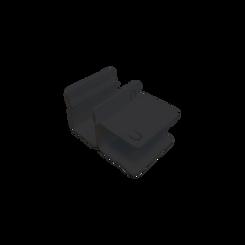 Umodu connector Ral 9005.png