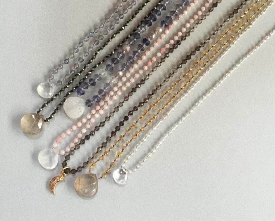 Energy Stone Necklaces