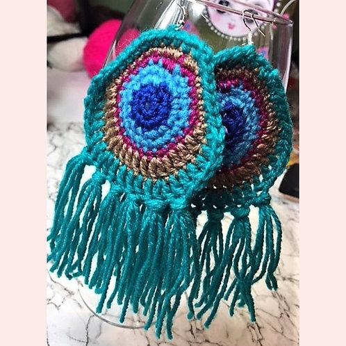 Peacock Motif Crochet Pattern