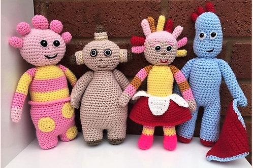In The Night Garden Crochet Pattern - Unofficial