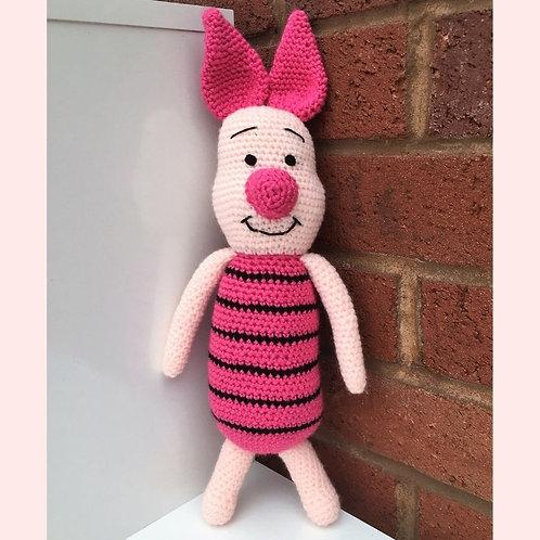 Piglet Crochet Pattern - Unofficial
