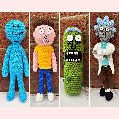 Rick and Morty Crochet Patterns