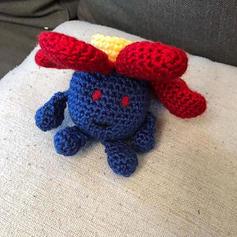 Vile Plume Crochet Dolls