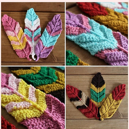 Indie Feathers Crochet Pattern