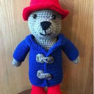 Paddington Bear Crochet Doll