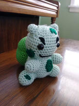 Bulbasaur Crochet Doll