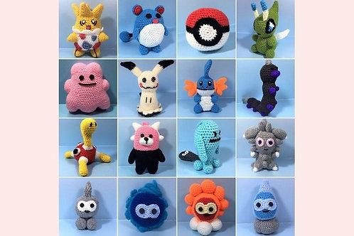 Pokémon Book Two Written Crochet Patterns - Unofficial