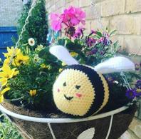 Mr Bumble Bee Crochet Doll