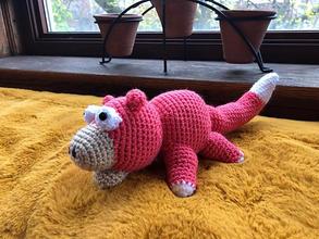 Slowpoke Crochet Doll