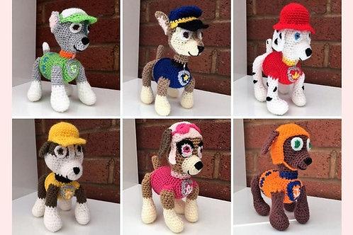 Paw Patrol Crochet Patterns - Unofficial