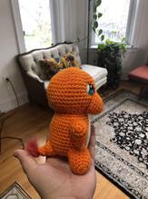 Charmander Crochet Doll