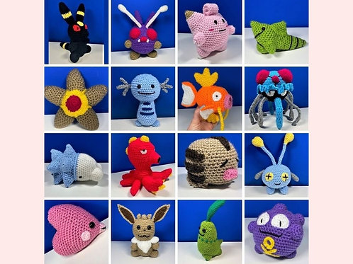 Pokémon Crochet Patterns Book Three - Unofficial