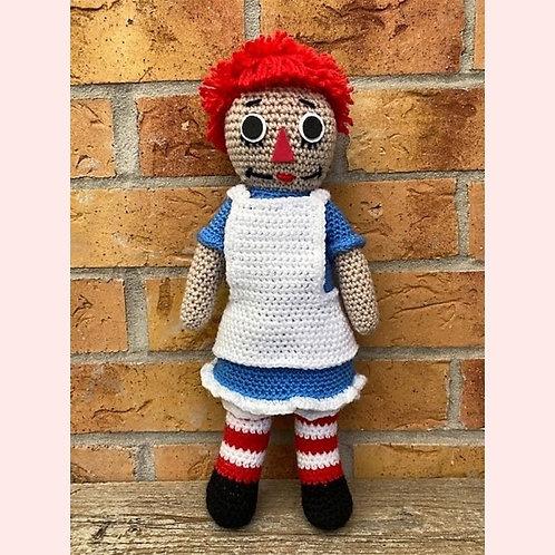 Raggedy Ann - Annabelle Crochet Pattern