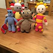 In The Night Garden Crochet Dolls