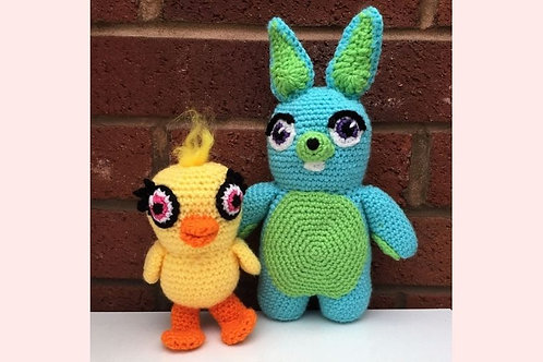 Ducky and Bunny Crochet Pattern - Unofficial