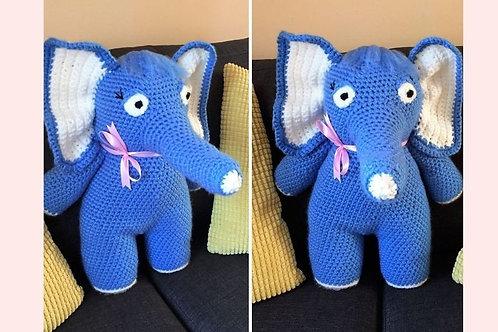 Jumbo Elephant Crochet Pattern