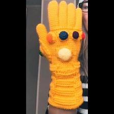 Infinity Glove Crochet Pattern