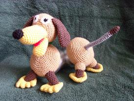 Slinky Dog Crochet Doll