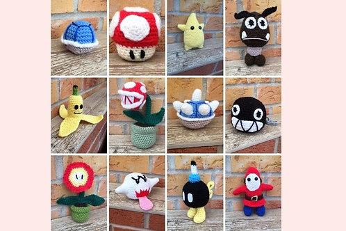 Super Mario Items Crochet Collection - Unofficial