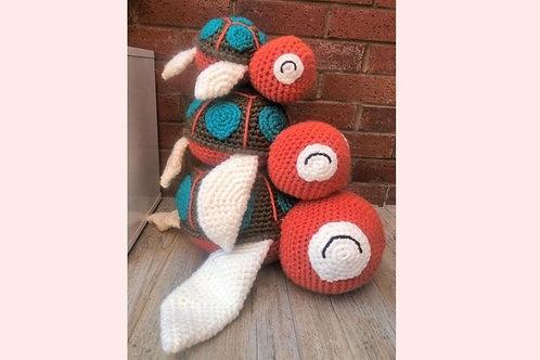 Jumbo Turtles Crochet Pattern