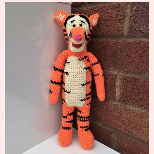 Tigger Crochet Pattern - Unofficial