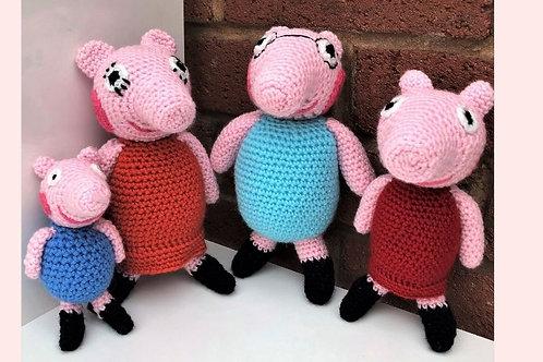 Peppa Pig Crochet Pattern - Unofficial
