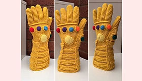 Crochet Infinity Glove