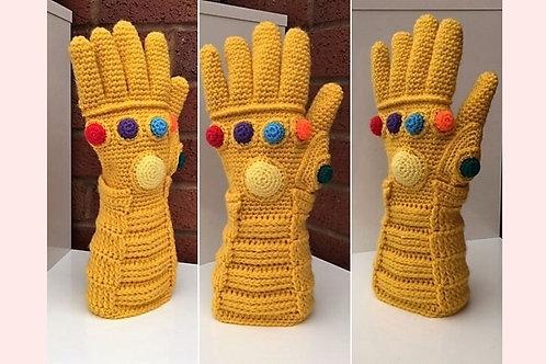 Infinity Gauntlet Crochet Pattern - Unofficial