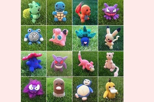Pokémon Crochet Patterns Book One - Unofficial