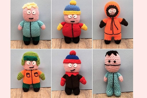 Southpark Crochet Pattern - Unofficial